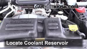 2003 dodge durango radiator how to add coolant dodge dakota 1997 2004 2002 dodge dakota