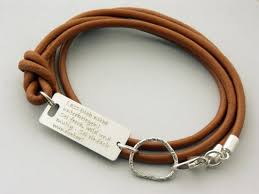 leather bracelet with sterling silver images Make my day quote bracelets friendship sterling silver php