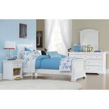White Sleigh Bed Ne Walnut Sleigh Bed White Hayneedle