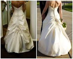 wedding dress bustle wedding dress bustle photo which bustle style should you choose