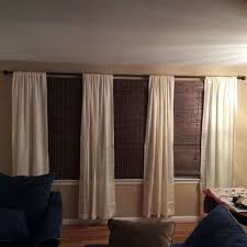 Window Treatments For Wide Windows Designs How Can I Cover This Very Wide Window Hometalk
