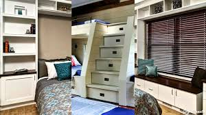 smart bedroom storage ideas youtube