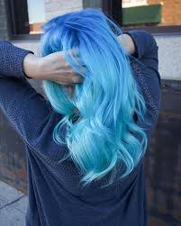 light blue hair dye 21 bold and beautiful blue ombre hair color ideas stayglam
