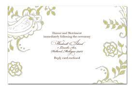 wedding invitation format wedding invitation formats wedding invitations