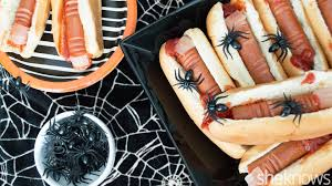 halloween finger food bloody dog fingers u2014 the creepiest thing you u0027ll eat this halloween