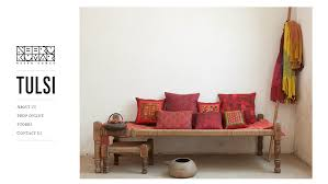 Indian Home Decor Stores Indian Textile Designer Neeru Kumar Launches An Online Portal