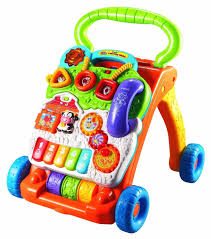 amazon com vtech sit to stand learning walker frustration free
