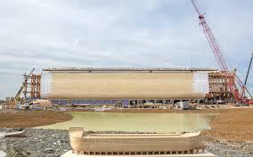 massive re creation of noah u0027s ark preps for summer opening