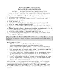 free florida small estate affidavit disposition of personal