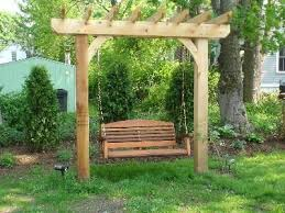 Wooden Garden Swing Seat Plans by Best 25 Garden Swings Ideas On Pinterest Garden Swing Seat