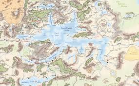 Faerun Map Faerûn Location Giant Bomb