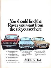 vintage land rover ad historical rover advertisements