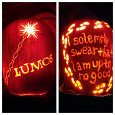 halloween pumpkin light 26 jack o u0027 lanterns inspired by your favorite books harry potter