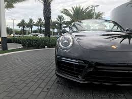 fashion grey porsche turbo s 2018 new porsche 911 turbo s cabriolet at porsche west broward