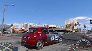 peugeot 206 gti peugeot 206 gti racing paintjob gta5 mods com