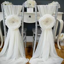 diy chair sashes chair sash gallery weddinggawker