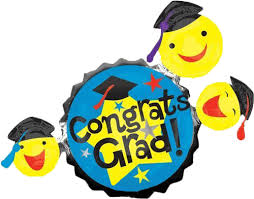 shop 35 graduation smiley faces balloon instaballoons