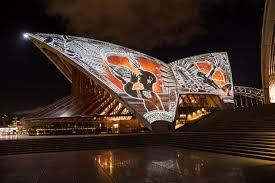 indigenous art lights up the sydney opera house cnn style