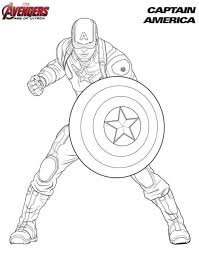 kids fun 18 coloring pages avengers