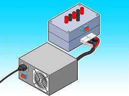 Pc Power Supply Bench How To Create A 12 Volt Dc Test Bench For Bullet Cameras Using An