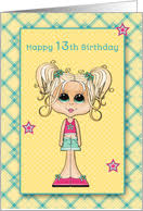 13th birthday cards from greeting card universe