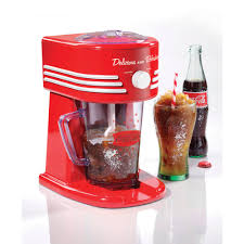 nostalgia fbs400coke coca cola 40 oz frozen beverage station