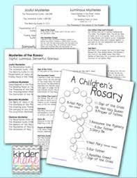 children s rosary children s rosary prayer guide for students teachers and parents