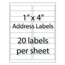wholesale 4x1 colored address labels avery 5161 u0026 5961 compatible