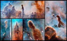 Pillars Gorgeous Nebula Photos Reveal U0027pillars Of Destruction U0027