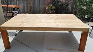Patio Table Top by Homemade Patio Table With Stone Top Engineering Rants And Raves
