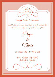 ceremony cards engagement ceremony invitation card with wordings check it out