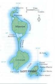 map of st and miquelon and miquelon general data