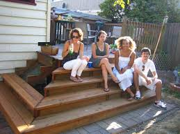Corner Deck Stairs Design The Best Stair Design For Your Rharchadeckwestcountycom Landing