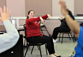 Chair Dancing Elders Village Talks Recap Happy Feet Chair Dancing Aec Living