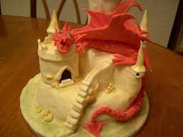 dragon cake and castle debbie brown book of magical cakes u2026 flickr