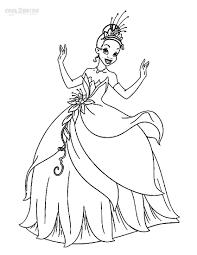 Princess Tiana Book Free Coloring Sheets Princess And The Frog Sheets