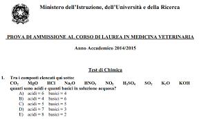 test ingresso veterinaria test d ingresso pubblicate le risposte esatte di veterinaria