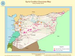 Beirut On Map Syria Oil And Gas Overview Map