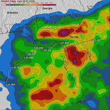 Rainfall Map Usa Tropical Storm Debby Drenches Florida Precipitation Measurement