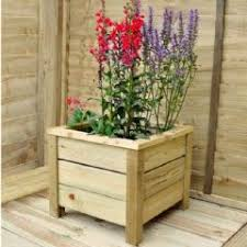 large square wooden planters in stock now greenfingers com