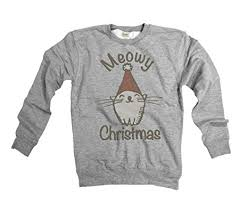 meowy christmas sweater meowy christmas cat mens unisex fit christmas