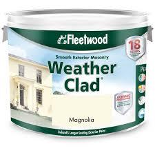 fleetwood masonry magnolia 10 litre colour masonry topline ie
