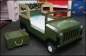 Jeep Bunk Bed Decorating Theme Bedrooms Maries Manor Theme Beds Novelty