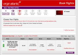 fantastic availability for virgin atlantic upper class using delta