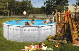 Swimming Pool Backyard Designs 40 Uniquely Awesome Above Ground Pools With Decks