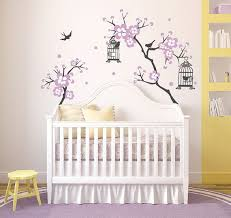 stickers pour chambre bébé fille bébé fille chambre decor cherry blossom arbre wal decal wall