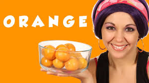 Orange Color by Color Orange Learn Colors Tea Time With Tayla Youtube