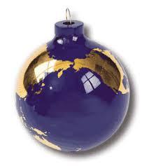 globe ornaments
