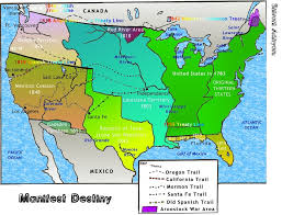 Destiny Maps Interactives United States History Map The Nation Expands