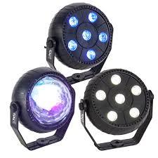 disco light party tri fx strobe led wash astro disco light pack